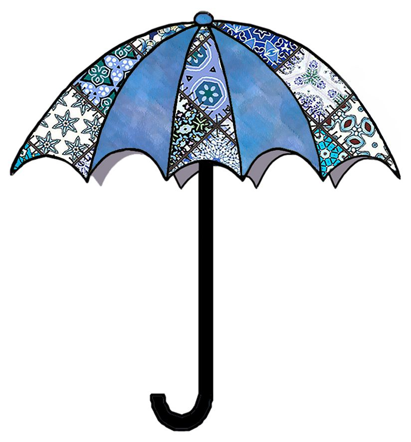 artbyjean clip art umbrella.
