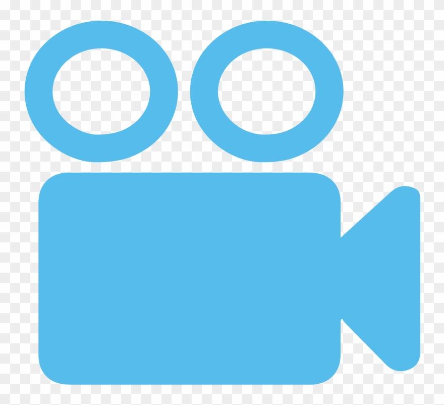 Video Record Icon Blue Clipart (#1104084).