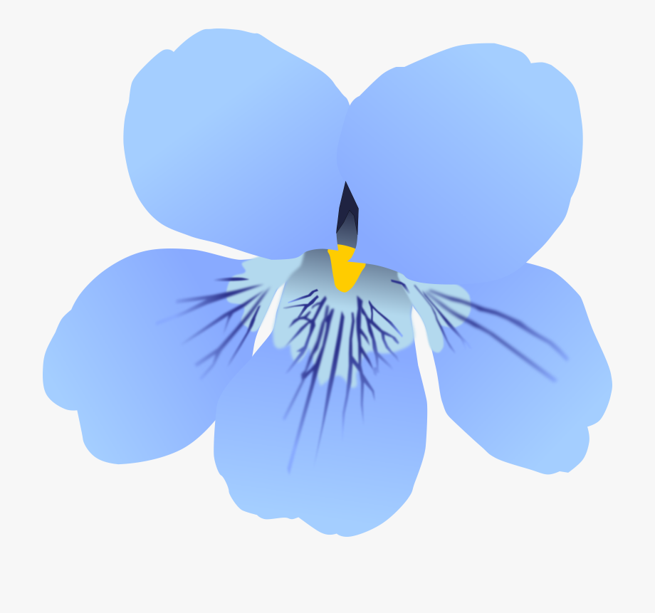 Pansy Clipart Violets Are Blue.