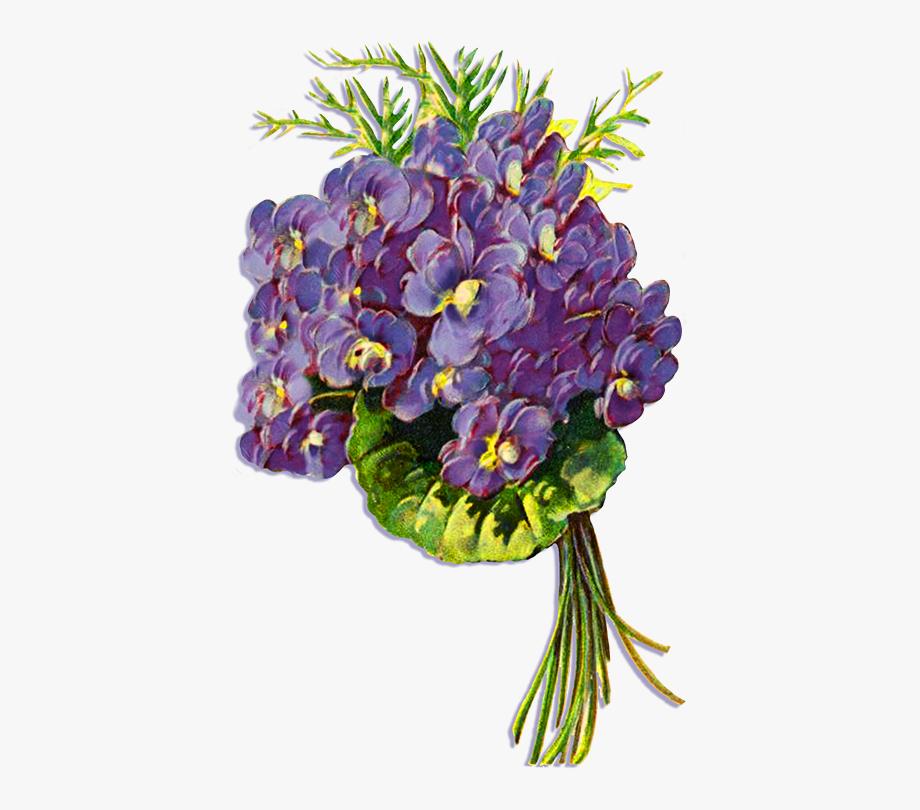 Blue Floral Clipart, Calla.