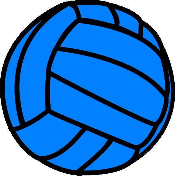 Blue Volleyball Clip Art at Clker.com.