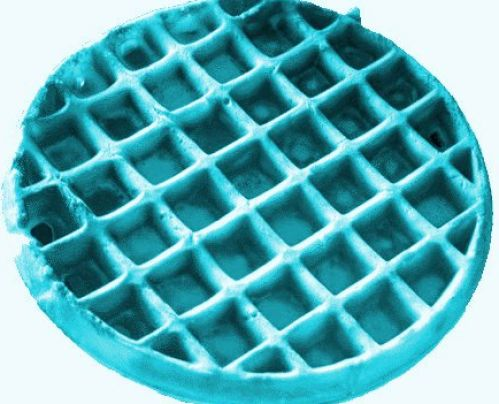 blue waffles disease clipart