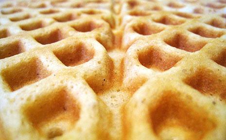 Blue Waffles Clipart.