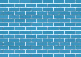 Dubai print sticker Blue brick wall brick DUBAI SHOP.