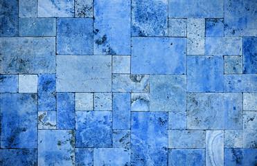 Dubai print sticker Stone blue wall brick DUBAI SHOP.