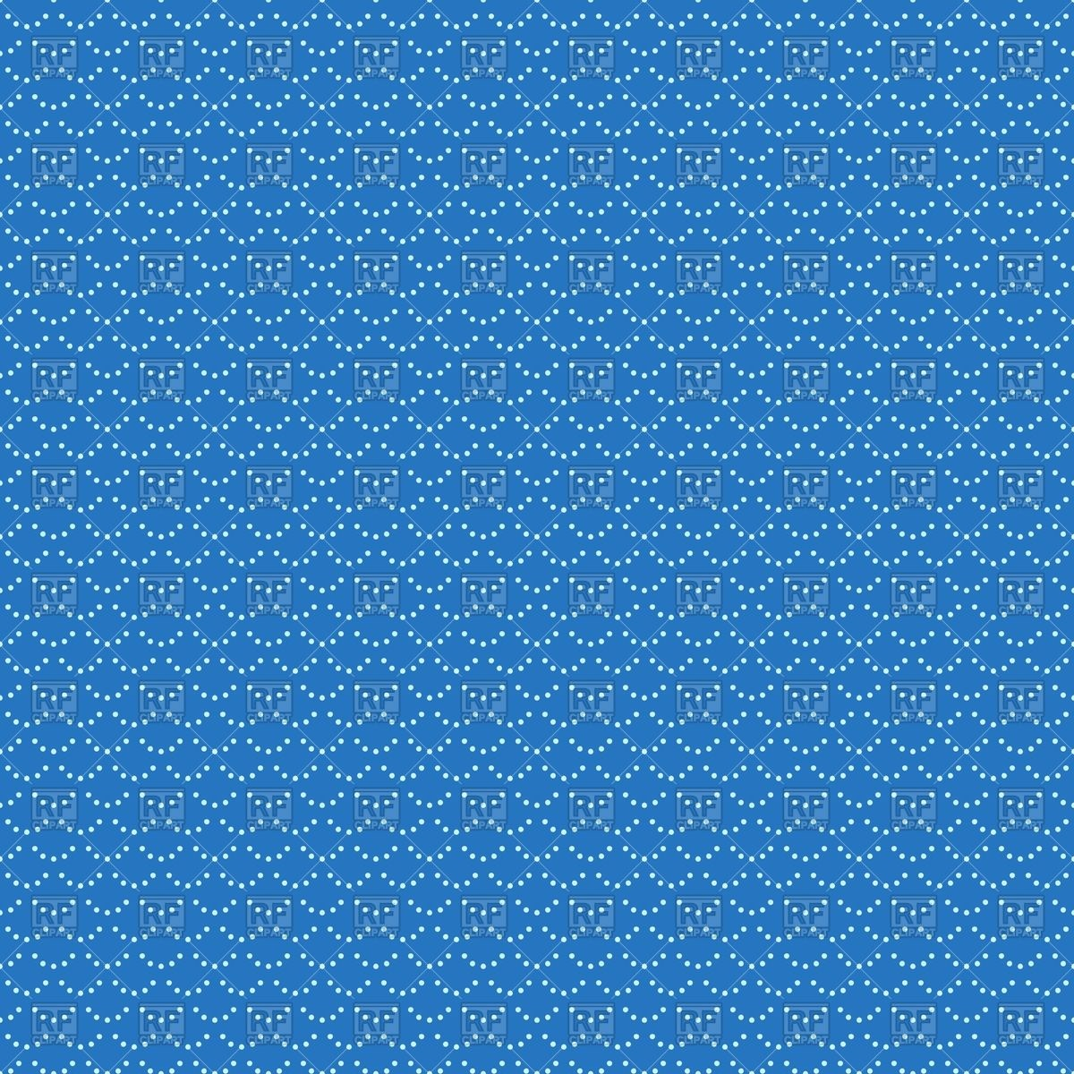 Abstract blue wallpaper with Chinese dotted pattern Vector Image.