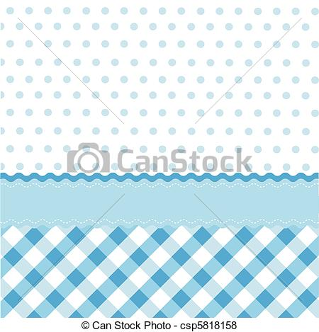 Vector of seamless baby blue pattern, wallpaper csp5818158.