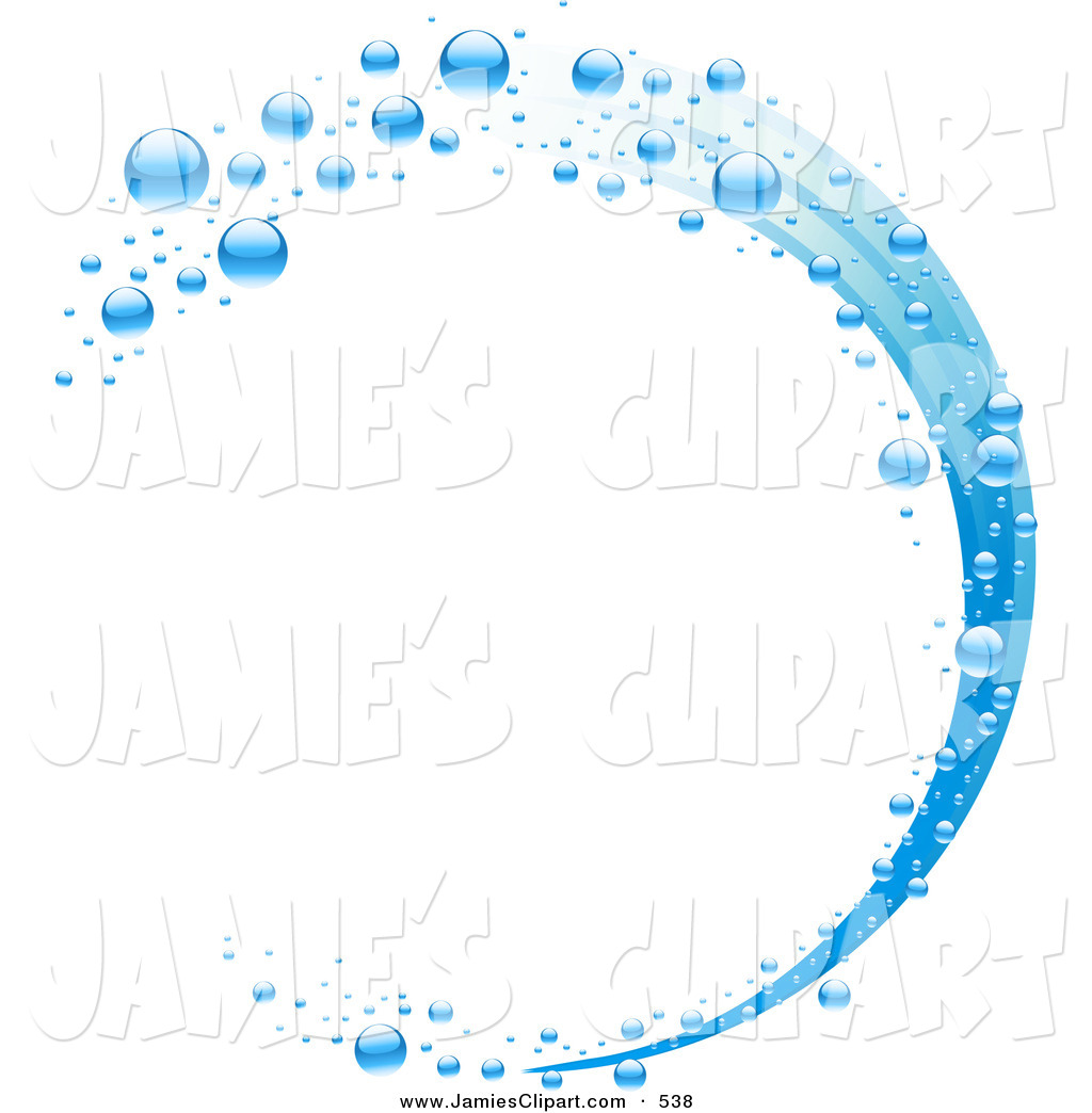 Blue Water Clipart.
