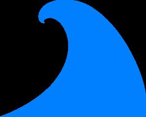 Blue Wave PNG, SVG Clip art for Web.