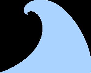 Blue Wave Clip Art at Clker.com.