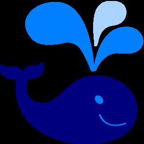 Blue whale clip art free clipart images.