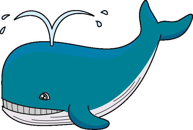 Blue Whale Clipart.
