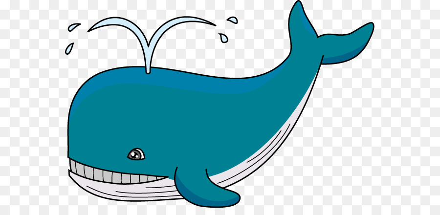 2561 Whale free clipart.