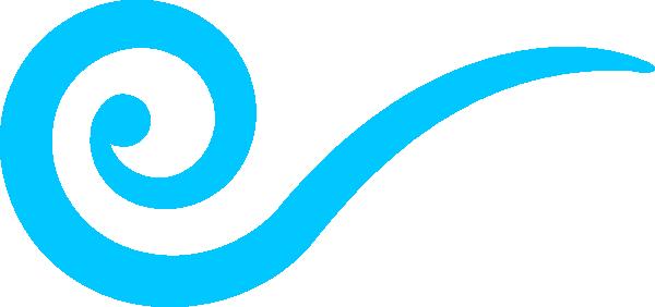 Aqua Swirl Clip Art at Clker.com.