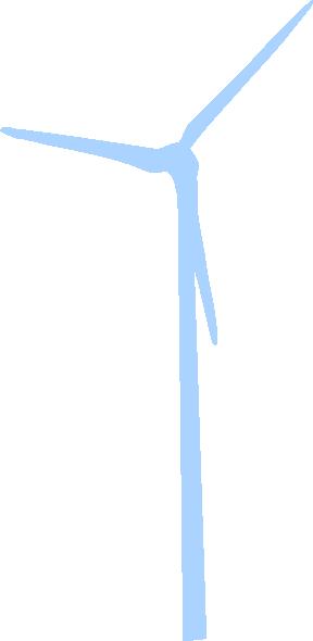 Light Blue Wind Turbine Clip Art at Clker.com.