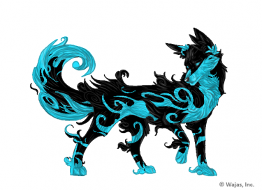 Blue wolf png 3 » PNG Image.