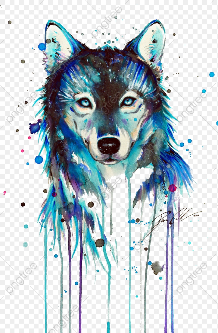 Dark Wolf, Wolf Clipart, By PNG Transparent Clipart Image and PSD.