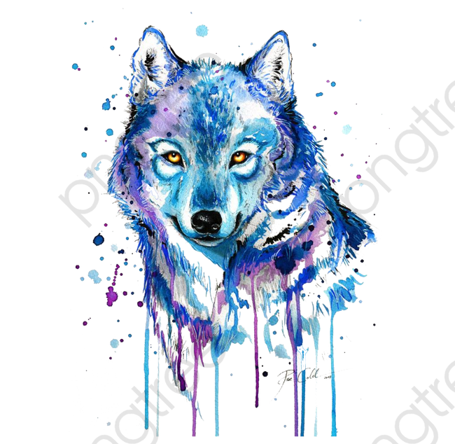 Abstract Wolf, Wolf Clipart, Wolf, Animal PNG Transparent Image and.