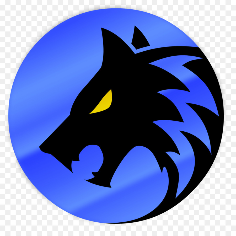 Wolf Logo png download.