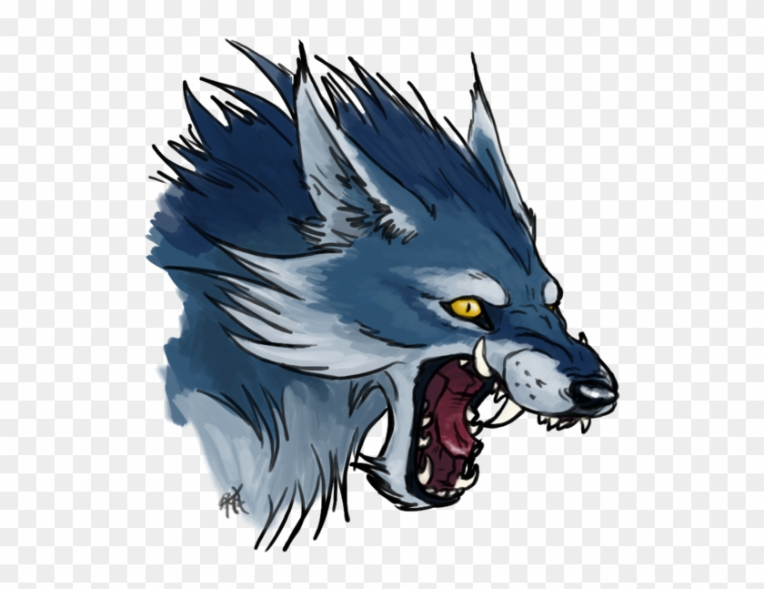 Blue Wolf Png.