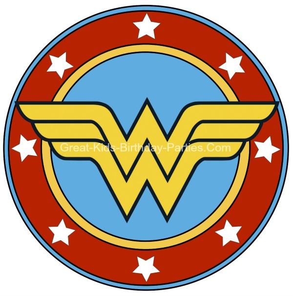 Wonder Woman Logo Clipart.