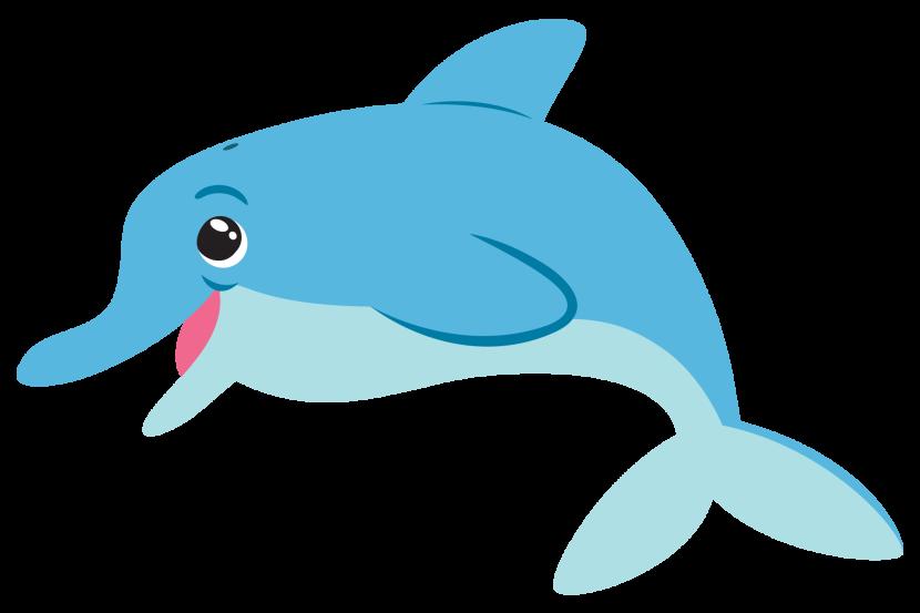Blue-beaked clipart #1