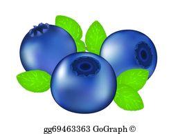 Blueberry Clip Art.