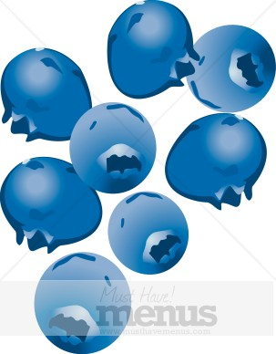 Blueberries clipart - Clipground