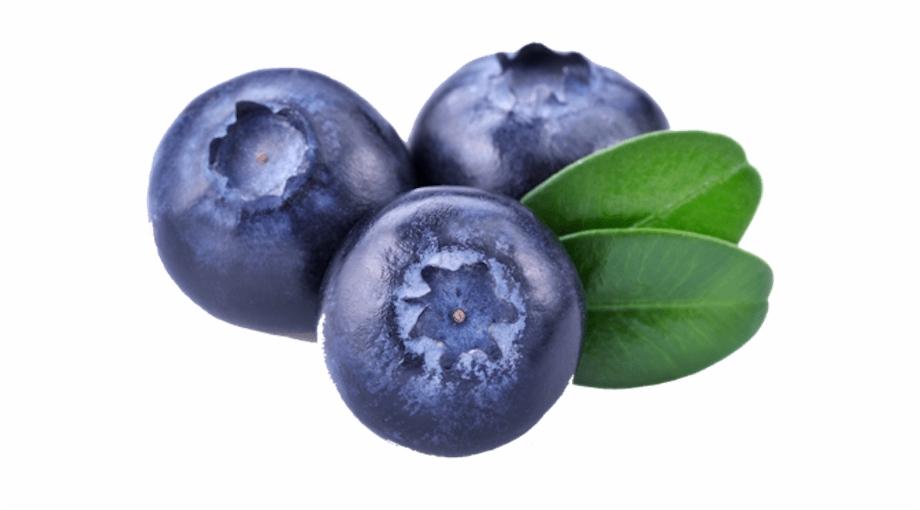 Three Blueberries.