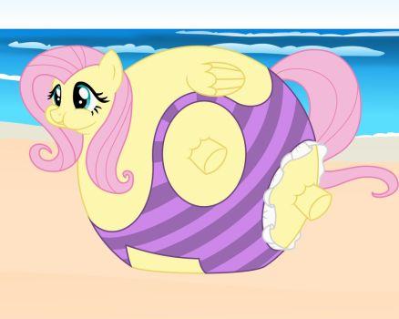 DeviantArt: More Like Blueberry Applejack At The Beach by blbr.