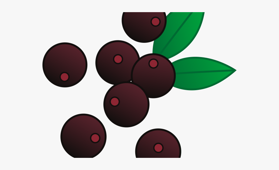 Berries Clipart One Blueberry.
