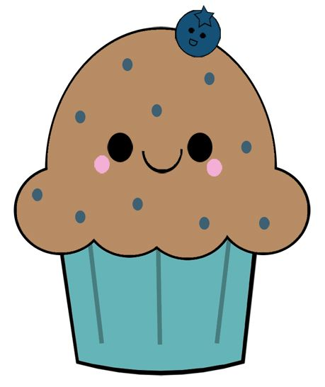 Image result for blueberry muffin clip art free.