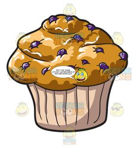 A Blueberry Muffin.