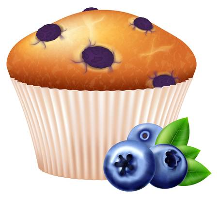 1,318 Blueberry Muffins Cliparts, Stock Vector And Royalty Free.