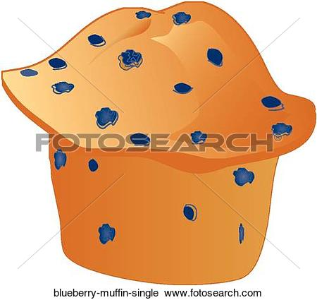 Clipart of Blueberry Muffin Single blueberry.