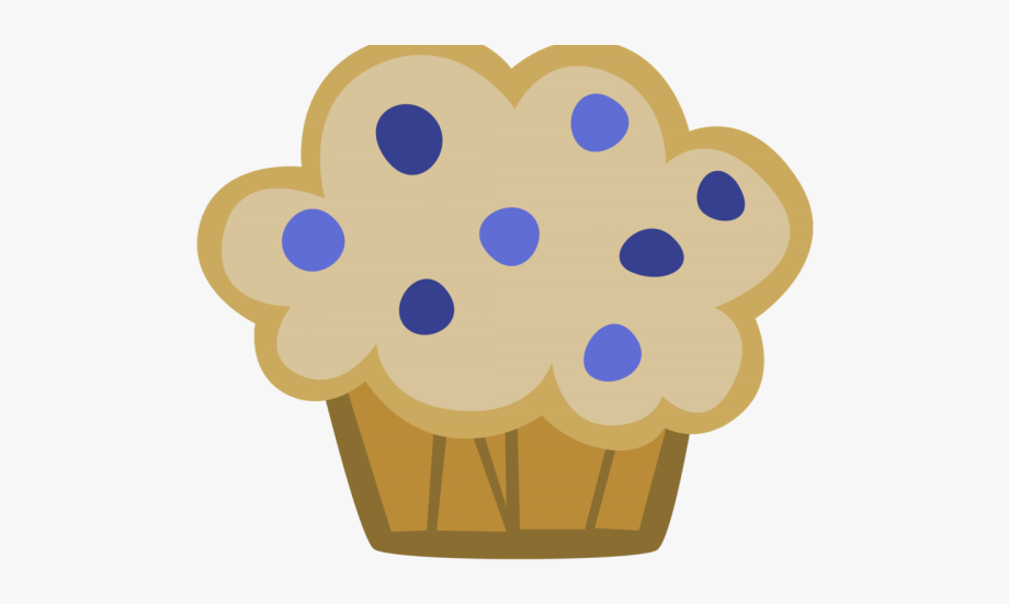 Blueberry Muffin Clipart Kawaii.
