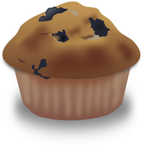 Blueberry Muffin Clip Art at Clker.com.