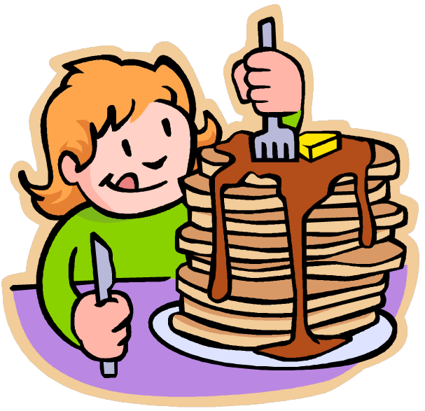 Blueberry Pancakes Clip Art 56999.