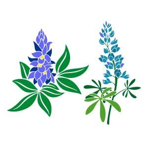 Bluebonnet Cuttable Designs.