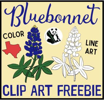 Bluebonnet Clip Art FREEBIE.