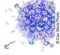 Bluebottle Clip Art Vector Graphics. 51 Bluebottle EPS clipart.