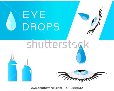 Open Bottle Drops Eye Stock Photos, Royalty.