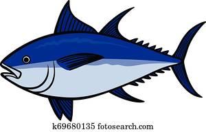 Bluefin Tuna Clipart.