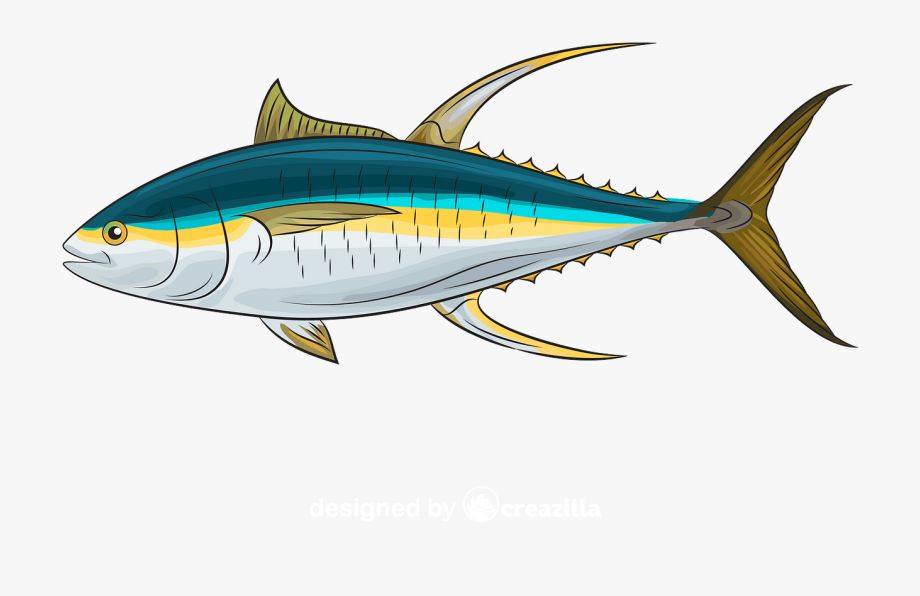 Atlantic Bluefin Tuna , Transparent Cartoon, Free Cliparts.