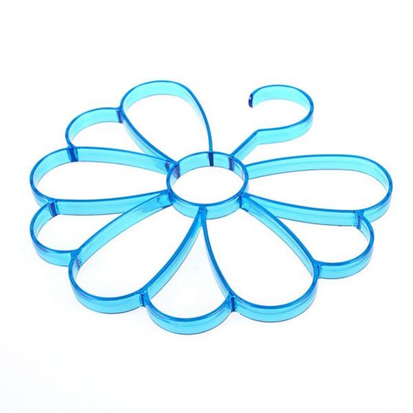 Buy Online Modern Half Flower Plastic Cloth Hanger.
