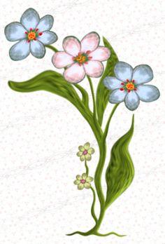 Green leaf clipart, pink flower vector png clip art.