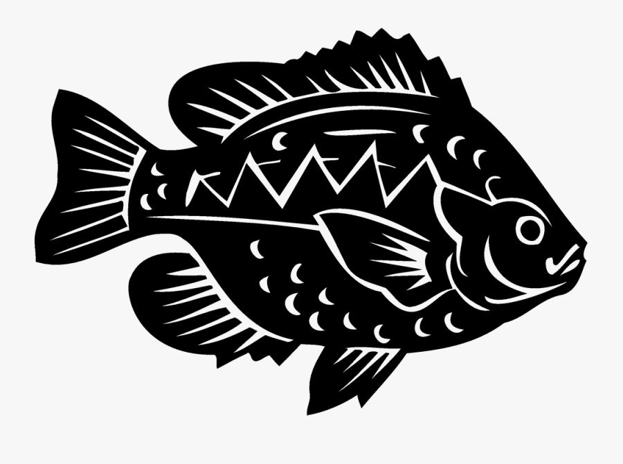 Bluegill Fish Sticker Clip Art , Free Transparent Clipart.