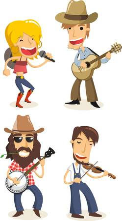 1,428 Bluegrass Cliparts, Stock Vector And Royalty Free Bluegrass.