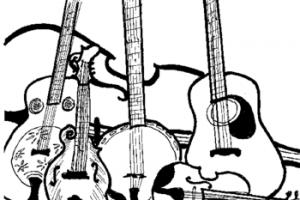 Bluegrass music clipart » Clipart Portal.
