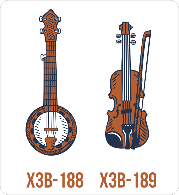 New Bluegrass Layout and Clip Art to Fiddle with in Easy View.